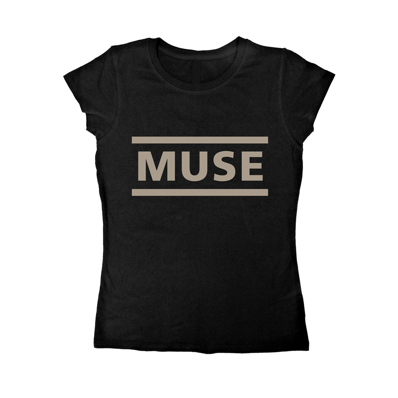 muse logo girl t shirt rockzone. Black Bedroom Furniture Sets. Home Design Ideas