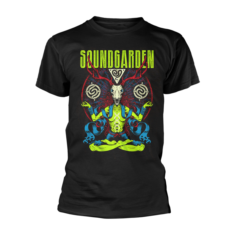 Soundgarden antlers t shirt rockzone for The garden band merch