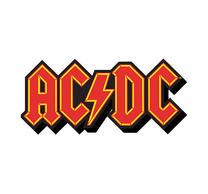 AC/DC Logo Cut Out Magnet