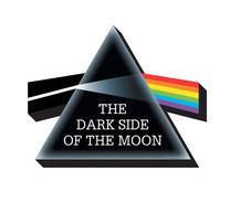 Pink Floyd Dark Side Metal Cut Out Magnet