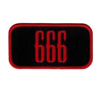666 Cut Out Patch