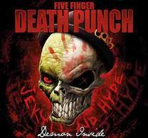 Five Finger Death Punch Demon Inside Flag
