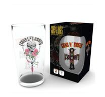 Guns N Roses Glas
