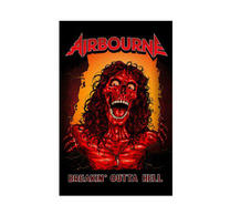 Airbourne Breakin Outta Hell Flag