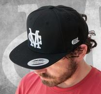 Millencolin Logo 3D Black Snapback Cap
