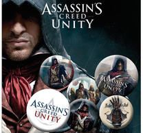 Assassins Creed Unity Badge Pack