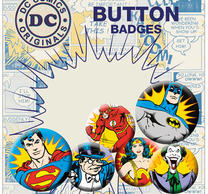 DC Comics Heroes & Villians Badge Pack