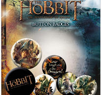 The Hobbit Desolation Of Smaug Badge Pack