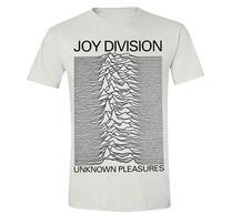 Joy Division Unknown Pleasures White TS