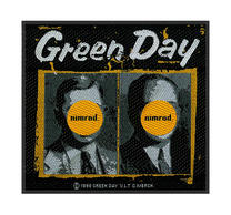 Green Day Nimrod Patch