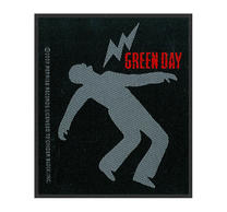 Green Day Lightning Bolt Patch