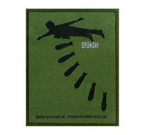 Green Day Bombs Patch