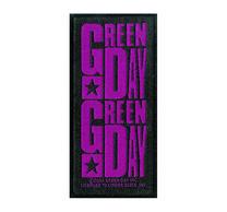 Green Day Logo Purple Patch