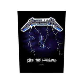 Metallica Ride The Lightning Backpatch
