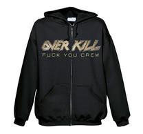 Overkill Fuck You Crew Zip
