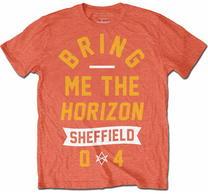 Bring Me The Horizon Big Text Orange TS
