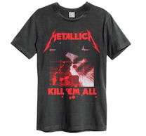 Metallica Kill Them All Black Amplified Vintage TS