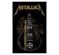 Metallica Hetfield Guitar Flag