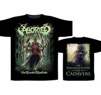 Aborted The Necrotic Manifesto TS