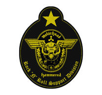 Motorhead Support Division Patch